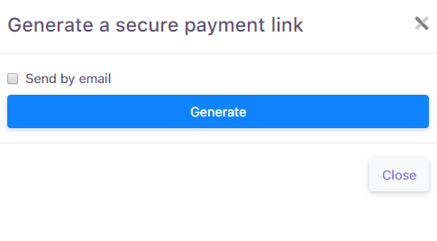 Generating payment link_2